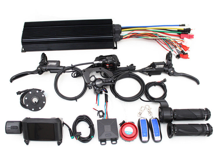 36/48/60/72V 2000W eBike Intelligent Programmable Controller System risunmotor exclusive 36v 72v 2000w