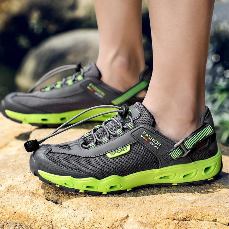 homens malha aqua sapatos ao ar livre 04