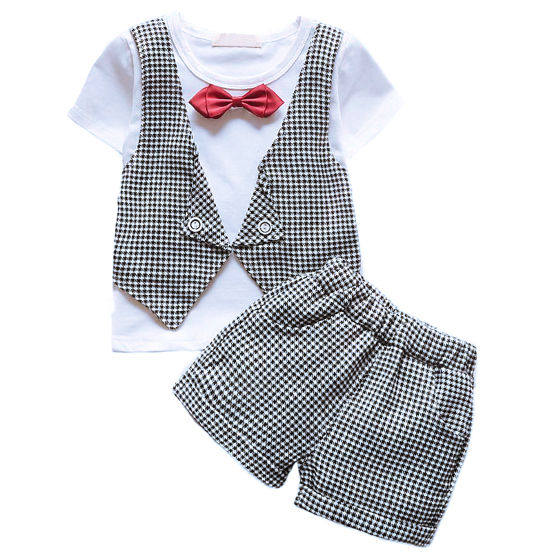 6f3fc980c Houndstooth bow tie children toddler suit for wedding baby boy birthday dress  children wedding suit for boys 1 2 3 years clothes. Price: