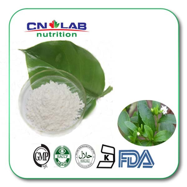 100g 98% stevia rebaudiana extract powder Stevioside stevia dry leaves Stevia rebaudiana (Bertoni) Hemsl export level senna senna extract powder 100g powder to remove fat excretion of toxins to aid digestion laxative
