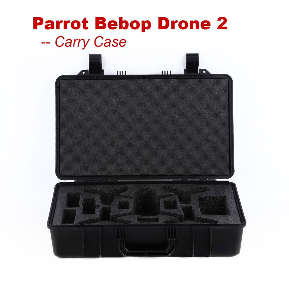 Parrot Bebop Drone 2.0 Accessories With High Performance Portable Carry Box ForParrot Bebop Drone 2.0 RC Quadcopter FPV 1pc original fpv camera front camera for parrot bebop drone 2 quadcopter rc parts fpv dron accessories