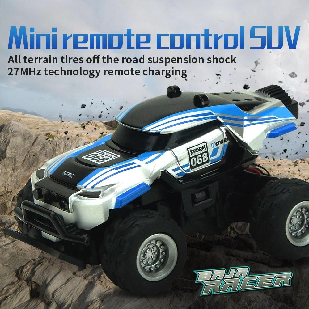 Brand New Mini 1:58 4CH Radio Remote Control Off Road Upgraded Version RC RTR