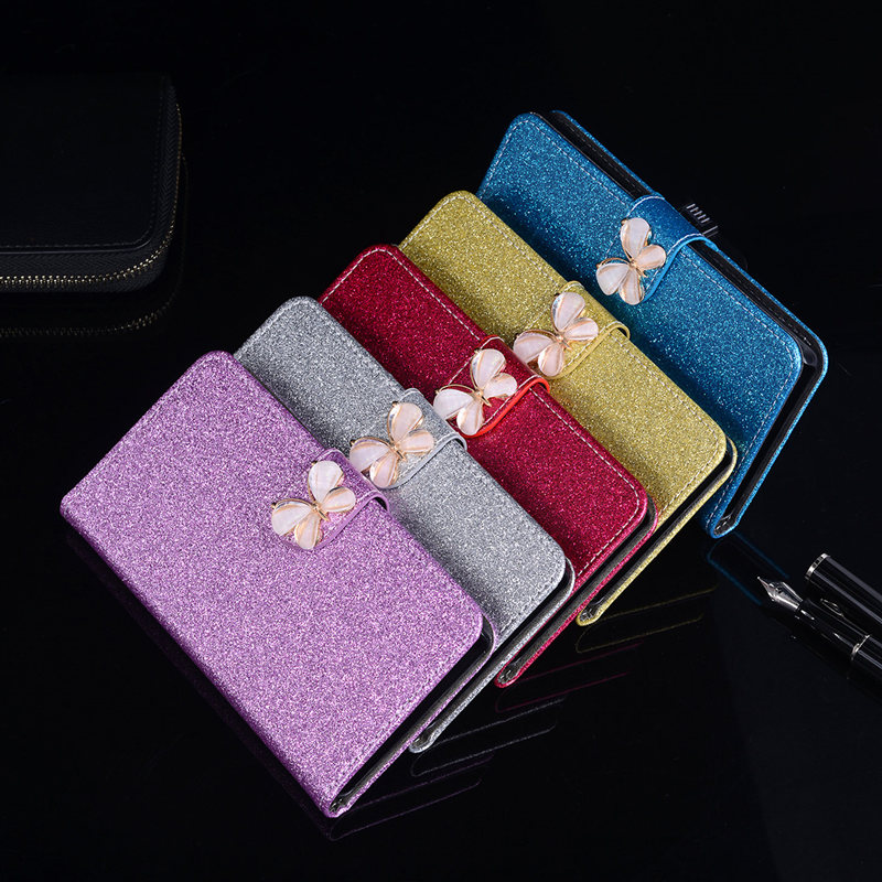 Glitter Coque For HTC Desire 310 310W D310W Case Leather Soft TPU Silicone Back Cover Butterfly Jewelled Cute Floral Phone Case
