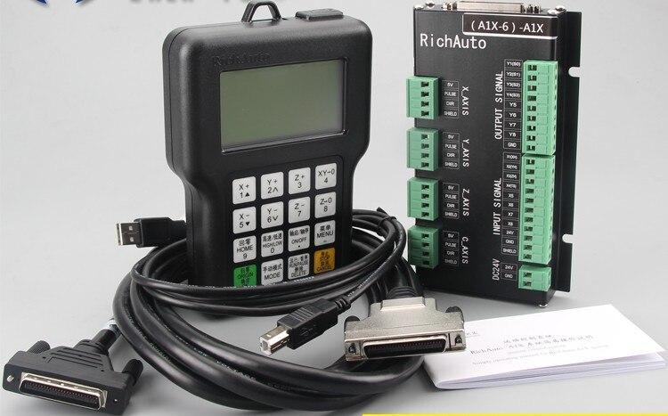 Контроллер ЧПУ adad RichAuto DSP A11, 3-осевой пульт дистанционного управления для фрезерного станка с ЧПУ TECNR