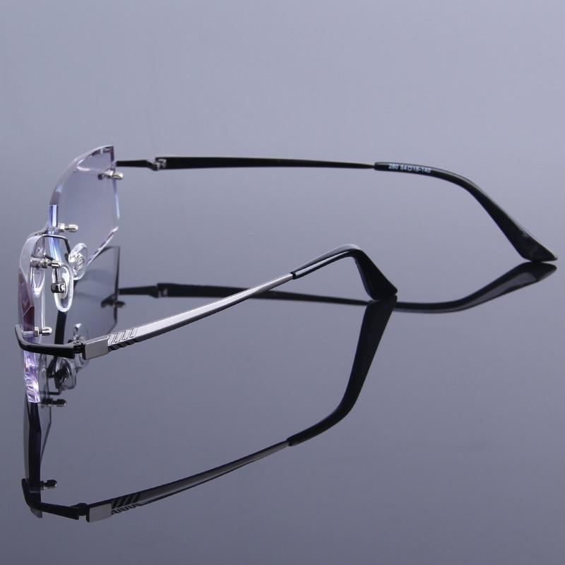 Diamante de alta calidad recortado gafas hombres gafas de lectura ...