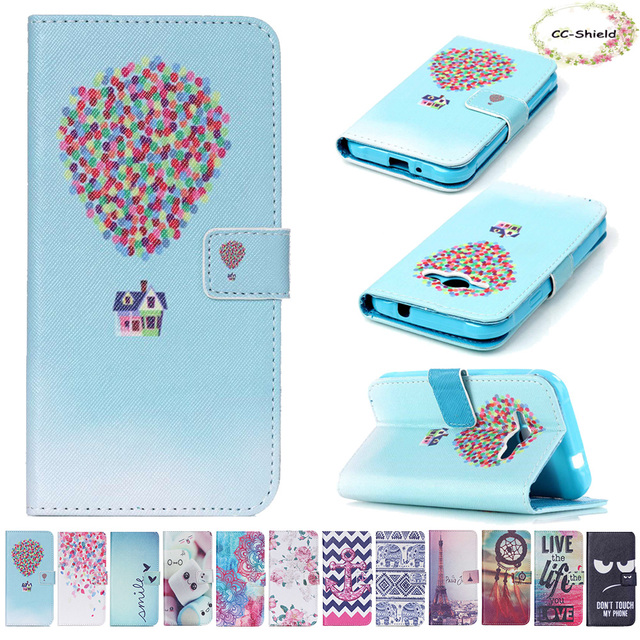 Phone Flip Case for Samsung Galaxy J1 J 1 Ace J1ace J110 J110M J110H J110H/DS SM-J110H SM-J110M SM-J110H/DS Leather cover case