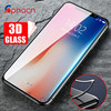 3D Full Cover Tempered Glass For iPhone X 8 7 Plus Screen Protector Tempered glass For iPhone 8 7 7 Plus 3D Glass