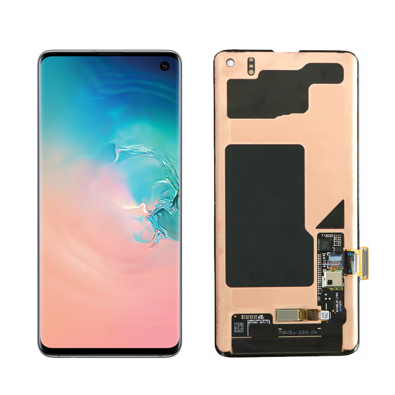 HTB16V5FeRiE3KVjSZFMq6zQhVXam The 1440*3040 LCD For SAMSUNG Galaxy S10E S10 G9730 Display S10+ Plus G9750 Touch Screen Digitizer Assembly With Service Pack