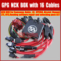 100% High Quality Original NCK Box with 16 Cables Full activated/Unlock&Repair&Flash 16 Cables