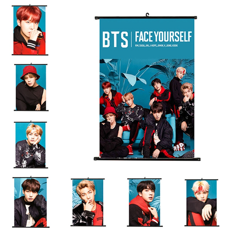 BTS Face Yourself Wall Poster (8 Types