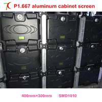 P1 667 Indoor 400 300mm Die Casting Aluminum Cabinet Led Display Screen 360 000pixels Sqm