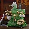 Модный смоляный стационарный телефон лошадь Европа антикварный стационарный телефон винтажный домашний офис telefono fijo antika