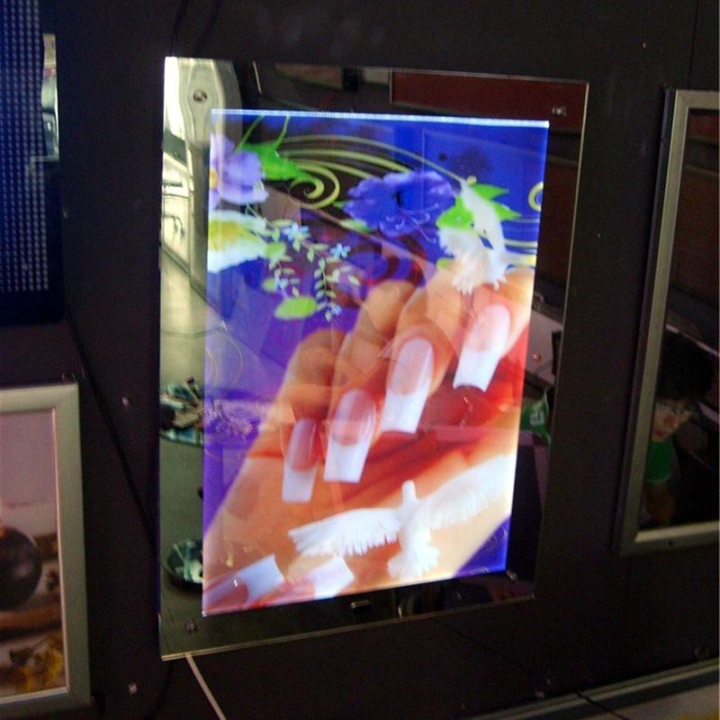 Led Slim Magic Mirror Auto Induction Advertising Display