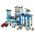 890 pcs Tijolos de Construção para a Delegacia de Polícia Da Cidade de Emma Legoed Mia Figura Brinquedos Para Crianças Compatíveis