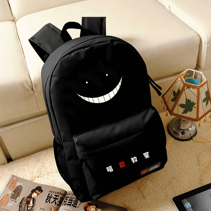 Ansatsu Kyoushitsu Korosensei Oxford Backpack Anime Cosplay Schoolbag Preppy Style Teenagers Unisex Student Shoulder Travel Bag