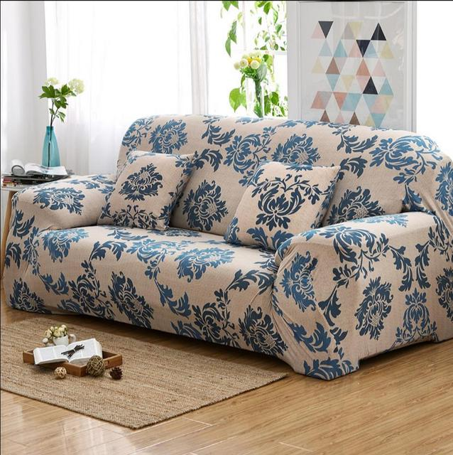Turnkey Set Of Universal Set Of Old Leather Sofa Cover Antiskid Stretch Sofa  Cushion Rural Cloth