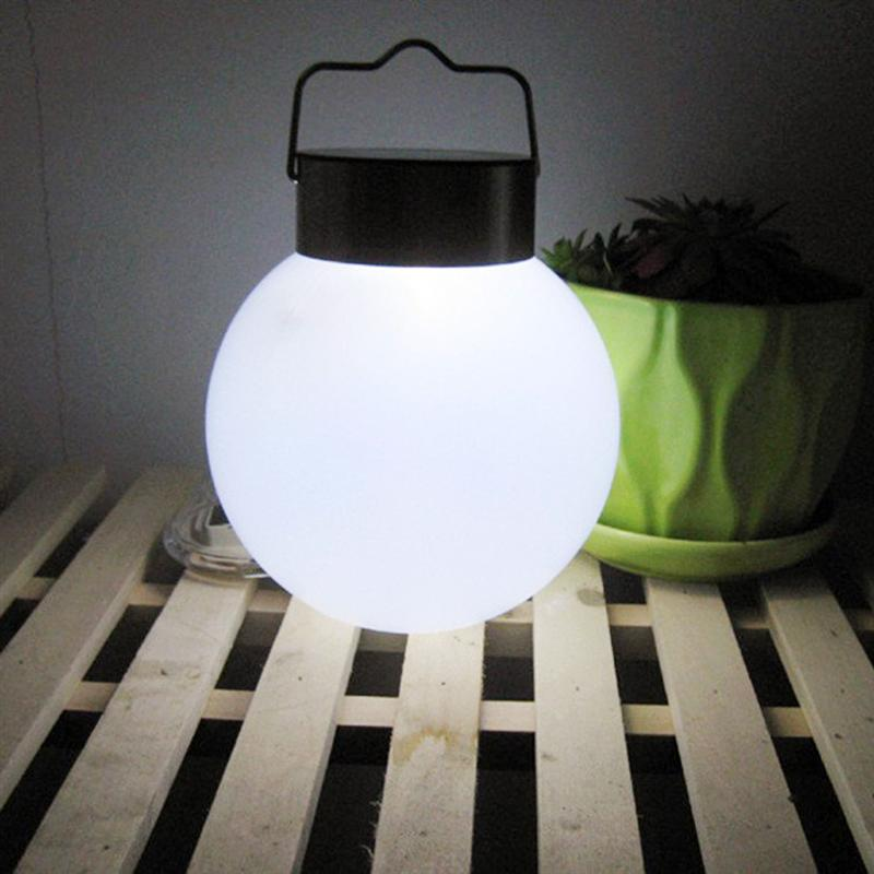 Outdoor Solar Lights Garden Lights Waterproof Led Spherical Hanging Lamp Night Light Stainless Steel Garden Chandelier ...