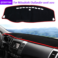 For Mitsubishi Outlander 2006 2012 Dashboard Mat Protective Interior Photophobism Pad Shade Cushion Car Styling Auto Accessories