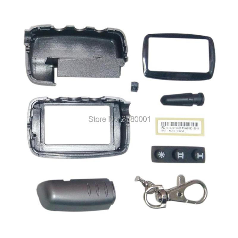 A9 Case Keychain Body Cover For Russian Starline A9 A8 A6 A4 A2 Two Way Car Alarm System Lcd Remote Control Key Fob