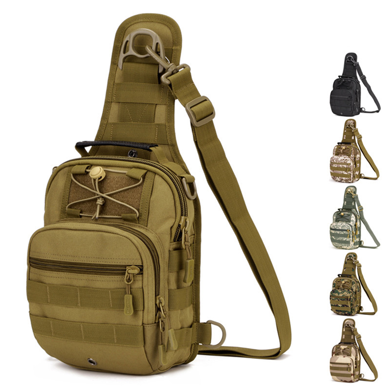 Multifunction 600D Tactical Shoulder Bag Outdoor Molle Military Camping Hiking Hunting Climbing Bag Sports Backpack 6 Colors outlife new style professional military tactical multifunction shovel outdoor camping survival folding spade tool equipment