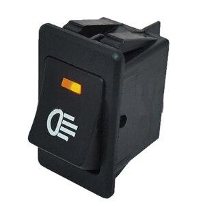 Image 4 - 4 sztuk 12V 35A uniwersalny światło przeciwmgielne samochodu przełącznik kołyskowy LED Dash Dashboard 4Pin