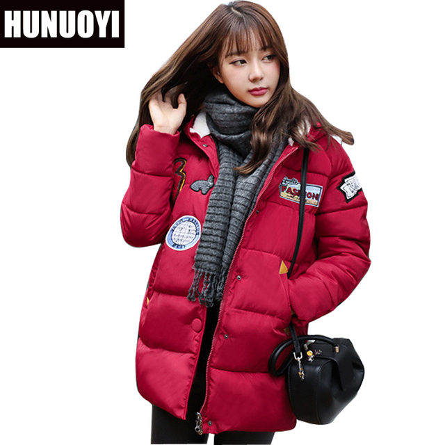 Aliexpress.com : Buy 2017 Winter coat women Fashion Wine Red Parka ...