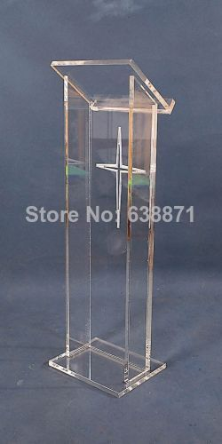 Free Shiping Acrylic Lectern / Plexiglass Lectern / Lecterns /church Pulpit