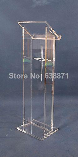 Free Shiping Acrylic lectern / plexiglass lectern / lecterns /church pulpitFree Shiping Acrylic lectern / plexiglass lectern / lecterns /church pulpit