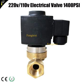 Co2 Solenoid Valve | Stage Effect Jet Machine Liquid/Gas Co2 Control Solenoid Valve High Frequency Carbon Dioxide Electric Valve 110/220v 45bar