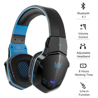 Gaming Headset B3505 Wireless Bluetooth 4. 1 Stereo Gaming Headphones Headset Volume Control Microphone HiFi Music Headsets