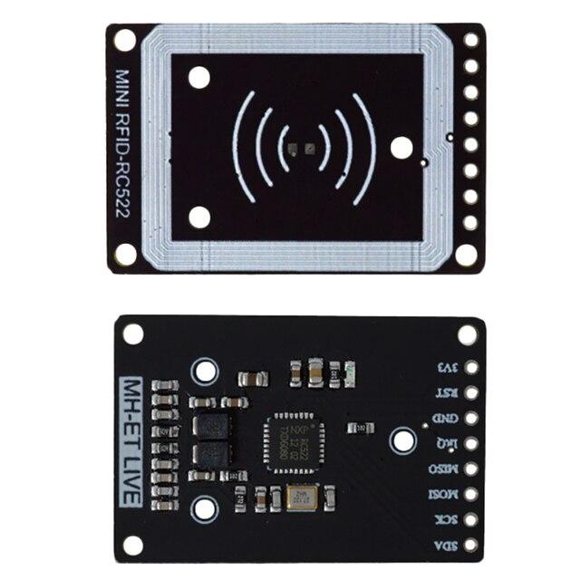 מיני Rc522 Rfid חיישן מודול כרטיס סופר קורא מודול I2C Iic ממשק Ic כרטיס Rf חיישן מודול Ultra קטן rc522 13.56Mhz #8