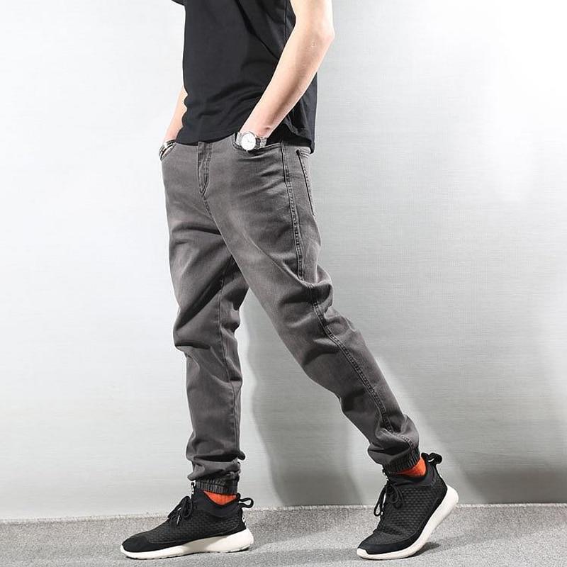 Fashion Streetwear Men Jeans Vintage Designer Retro Wash Slim Fit Joggers Jeans Men Japanese Style Vintage Hip Hop Jeans Pants