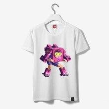 13 Padrões Dva T-shirt D. va Spray Camiseta Dva Curto Casal T-shirt Das Mulheres O Pescoço de Algodão de manga Menina Imprimir T-shirt Branca feminino(China (Mainland))