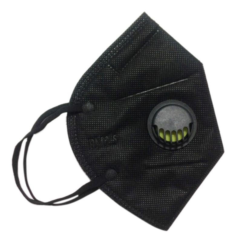 Disposable PM2.5 Anti Pollution Mouth Mask 3 Layer Non-Woven With Filter