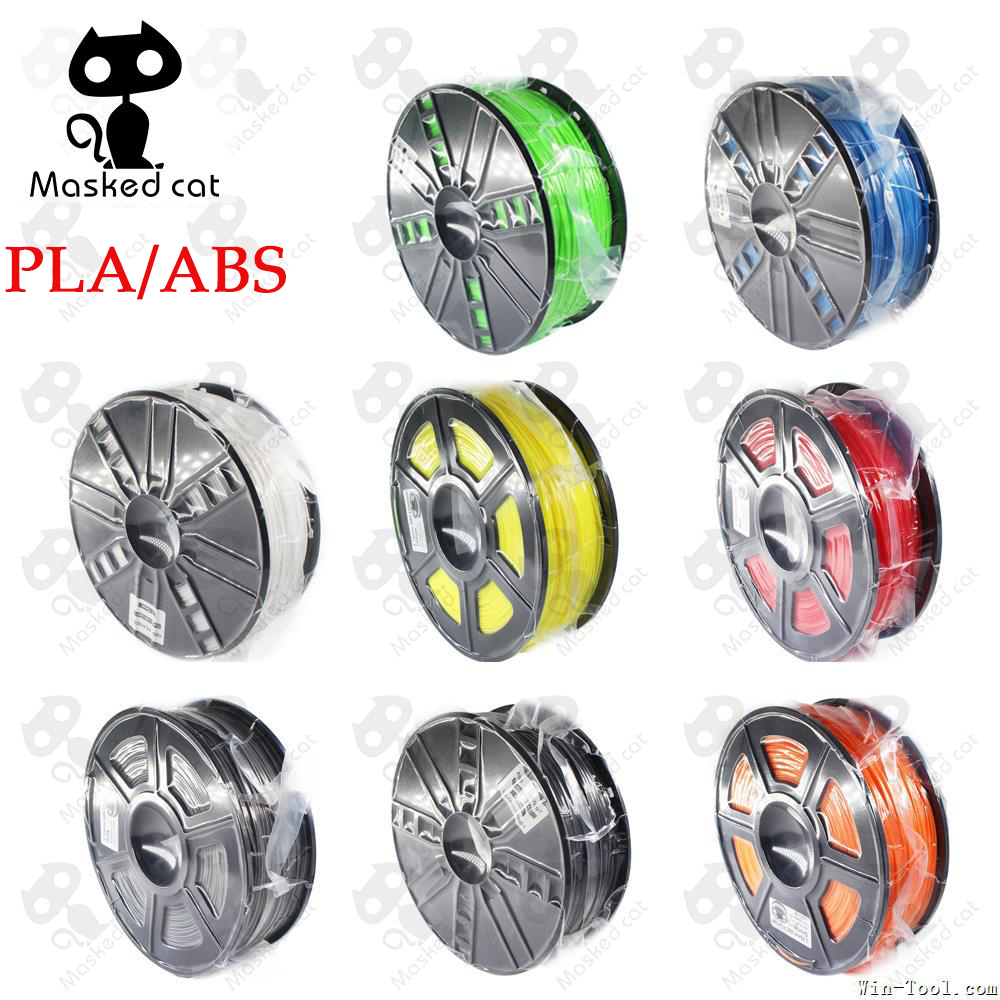3D Filament Optional PLA/ABS 1.75mm 1KG plastic Rubber Consumables Material a variety of colours filament 3d printer 3d printer filament pla 1 75mm 1kg plastic rubber consumables material 10 kinds colours for you choose