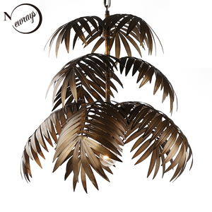 Image 1 - Industrial art deco coconut tree pendant light LED E27 modern loft hanging lamp for living room restaurant bedroom lobby hotel