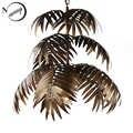 Lámpara colgante de árbol de coco E27 para decoración de Arte Industrial, lámpara colgante moderna para salón, restaurante, dormitorio, vestíbulo, hotel