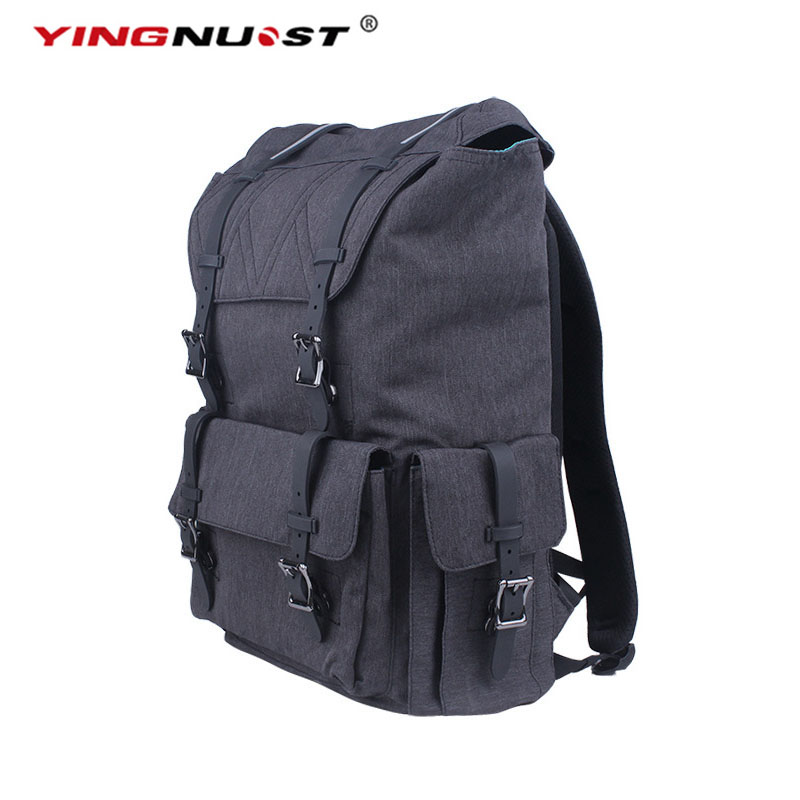 YINGNUOST High Quality F06 Waterproof Camera Shoulder Backpack Ultra-Capacity 48x38x16 cm Vintage Canvas Bag For DSLR SLR yingnuost f04 multi functional dslr slr camera bag canvas case shoulders backpack 43x33x16 cm