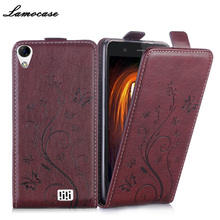 """For Homtom HT16 Case Luxury Wallet PU Leather Cover Doogee 5.0 inch"""" Flip Protective Phone Bag Lamocase"""""""