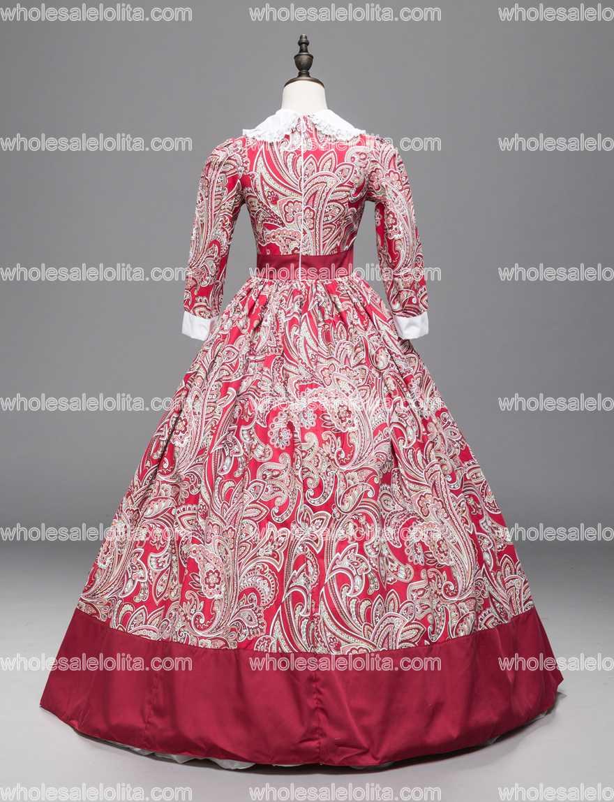 Princesa de Hadas Francés Rose del Vestido de Bola Gótico victoriano ...