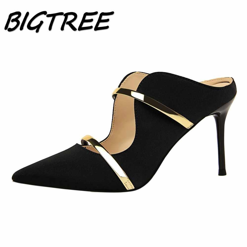 Latest Fashion Womens Ladies Pumps Pointed Toe High Heels
