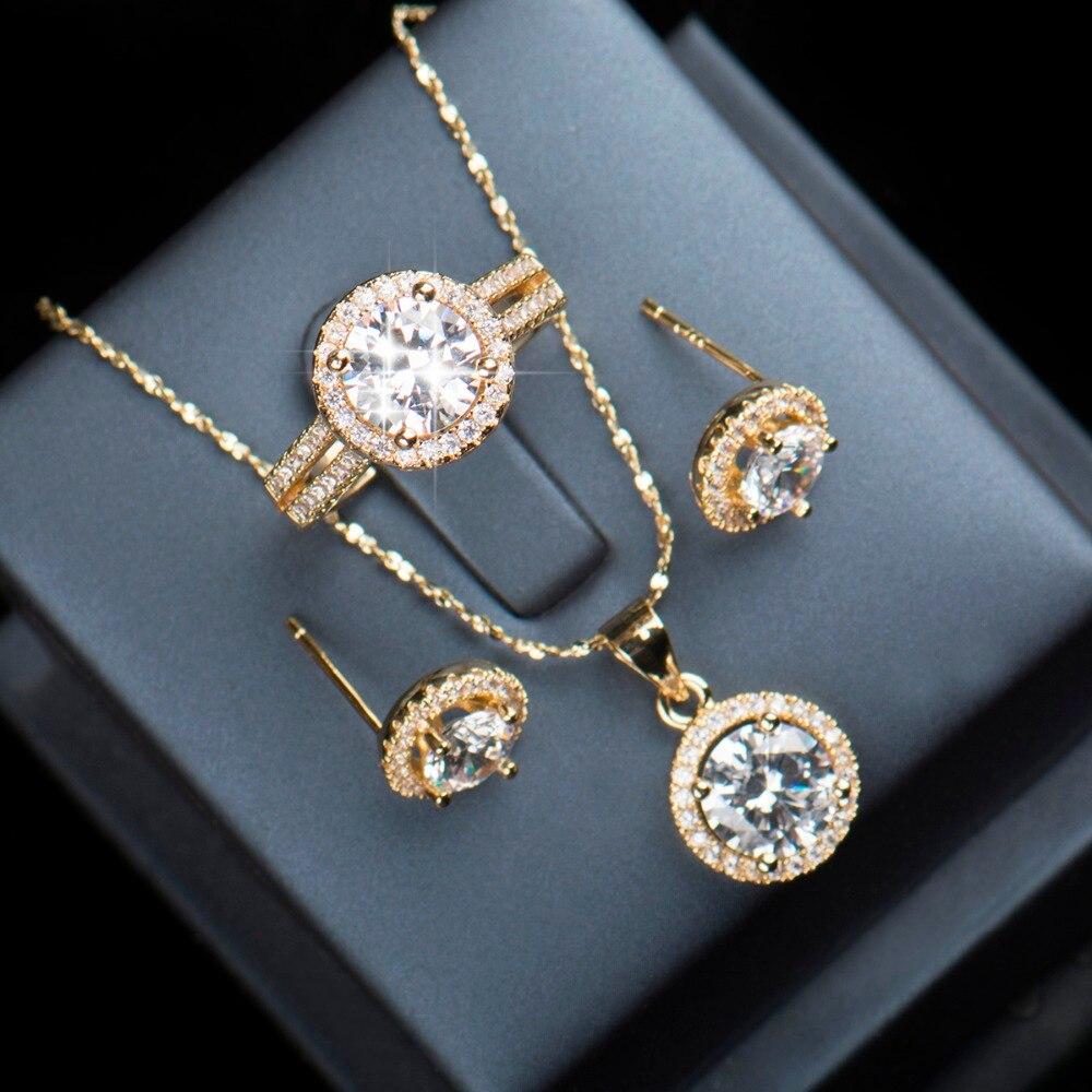 90% popusta Vjenčani nakit za mladenke 925 Sterling Silver AAAAA - Modni nakit - Foto 5
