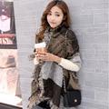 Autumn and winter ladies diagonal square check thickening woolen yarn   warm shawl tassels fashion lady scarf shawl