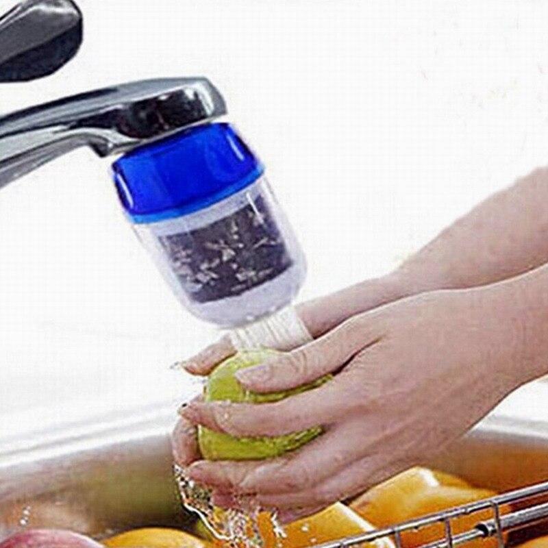 2019 Nuevo Estilo Cocina Casa Oficina Baño Saludable Grifo Filtro De Agua Purificador De Agua Filtro De Carbón Activado Activando La CirculacióN SanguíNea Y Fortaleciendo Los Tendones Y Los Huesos