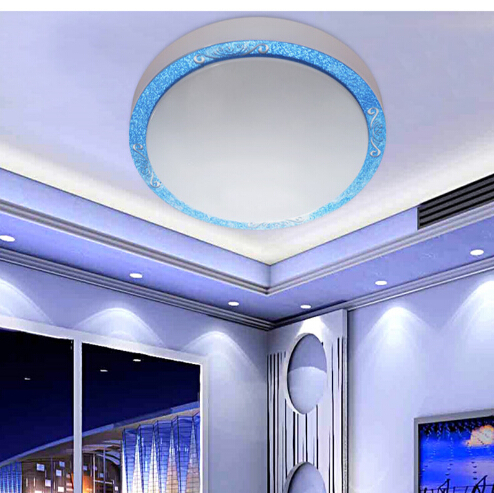 ФОТО LOWEST price 4 colors 5/12/18/23w Dia29/35/41cm acryl led ceiling light for kitchen bathroom living room bedroom study 1608