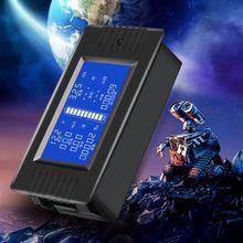 DC 0-200 в 0-300A тестер батареи вольтметр Ампер сопротивление мощности емкость счетчик времени энергии 50A/100A/200A/300A мультиметр