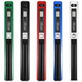 Handheld Mobile Portable Document Scanner 900 DPI LCD Display Support JPG / PDF Format Selection
