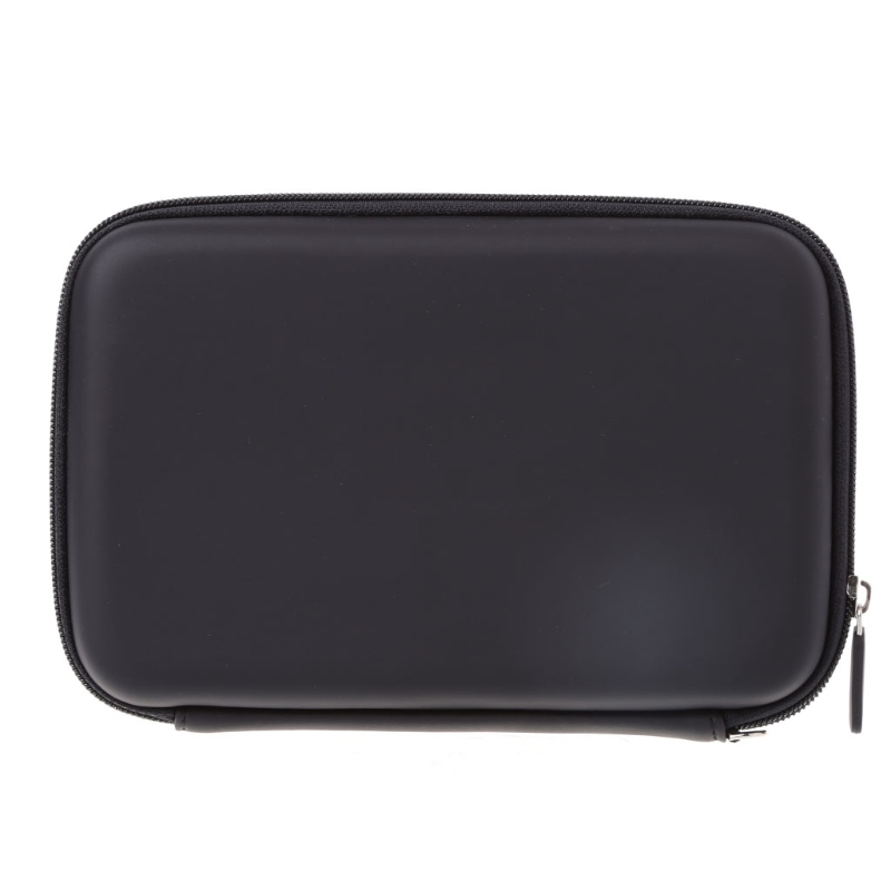 OOTDTY 7 Inch Hard Shell Carry Bag Zipper Pouch <font><b>Case</b></font> For Garmin Nuvi TomTom <font><b>Sat</b></font> <font><b>Nav</b></font> GPS image