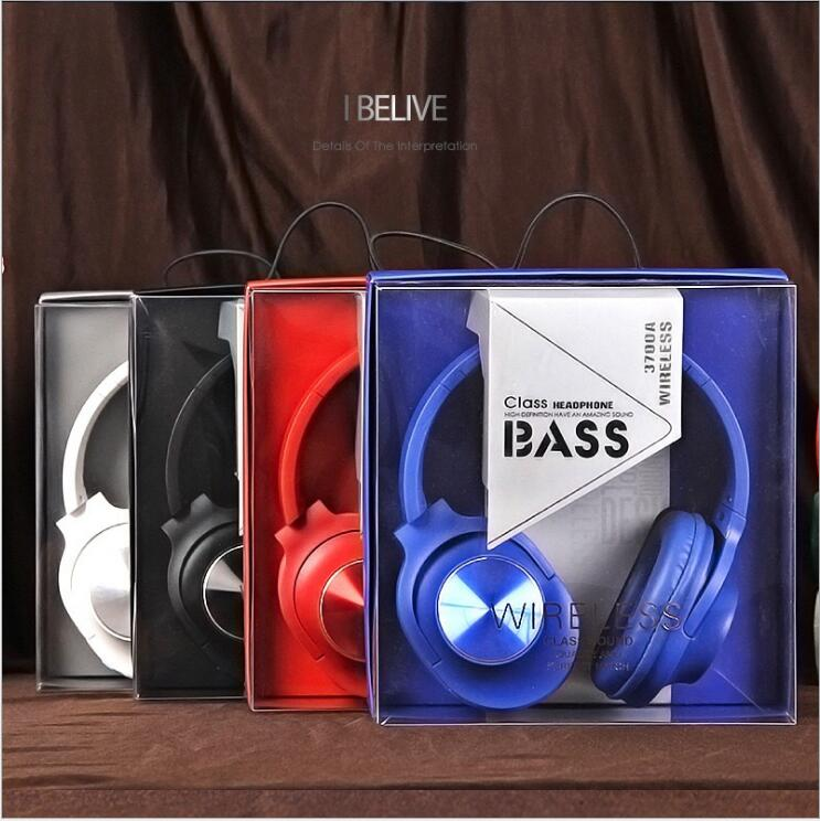цена на Free shipping classic blue cool design can be folding 4.2 version high quality voice music stereo wired blutooth headset