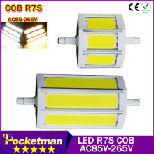 R7S COB led bulb  r7s led lights78mm 8W 118mm 12W  Led Light COB Lamp AC85-265V 220V 110V Replace halogen floodlight